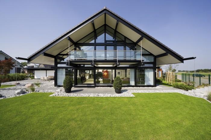 huf haus musterhaus art 5 in k ln. Black Bedroom Furniture Sets. Home Design Ideas