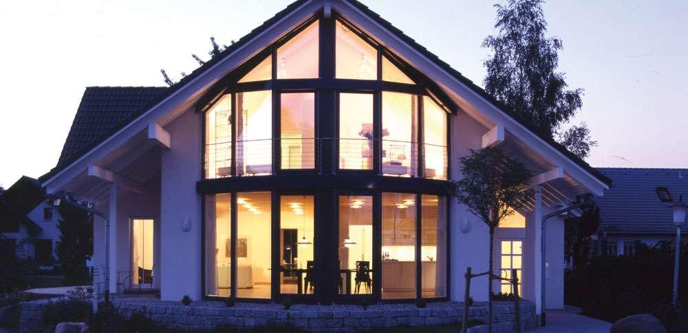 <p><strong>Musterhaus Mannheim in Fachwerkbauweise</strong></p>