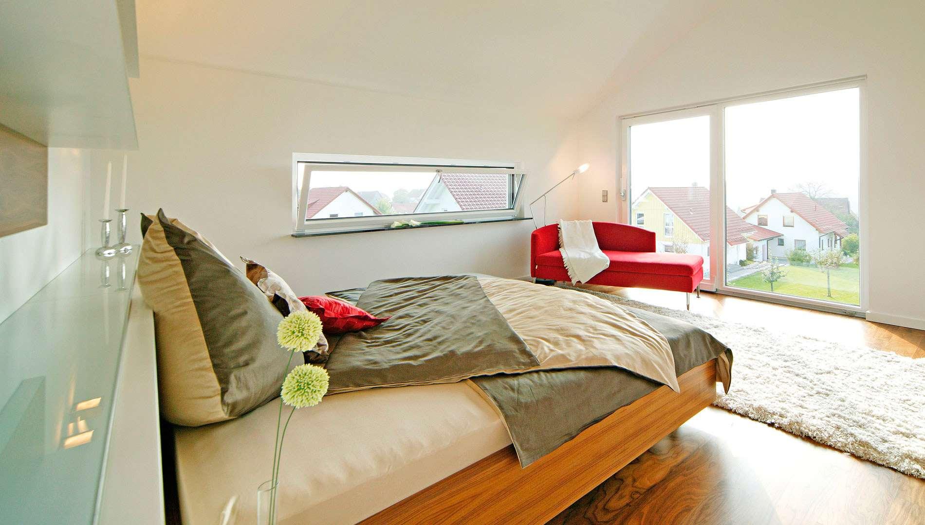 Musterhaus STYLE - Schlafzimmer