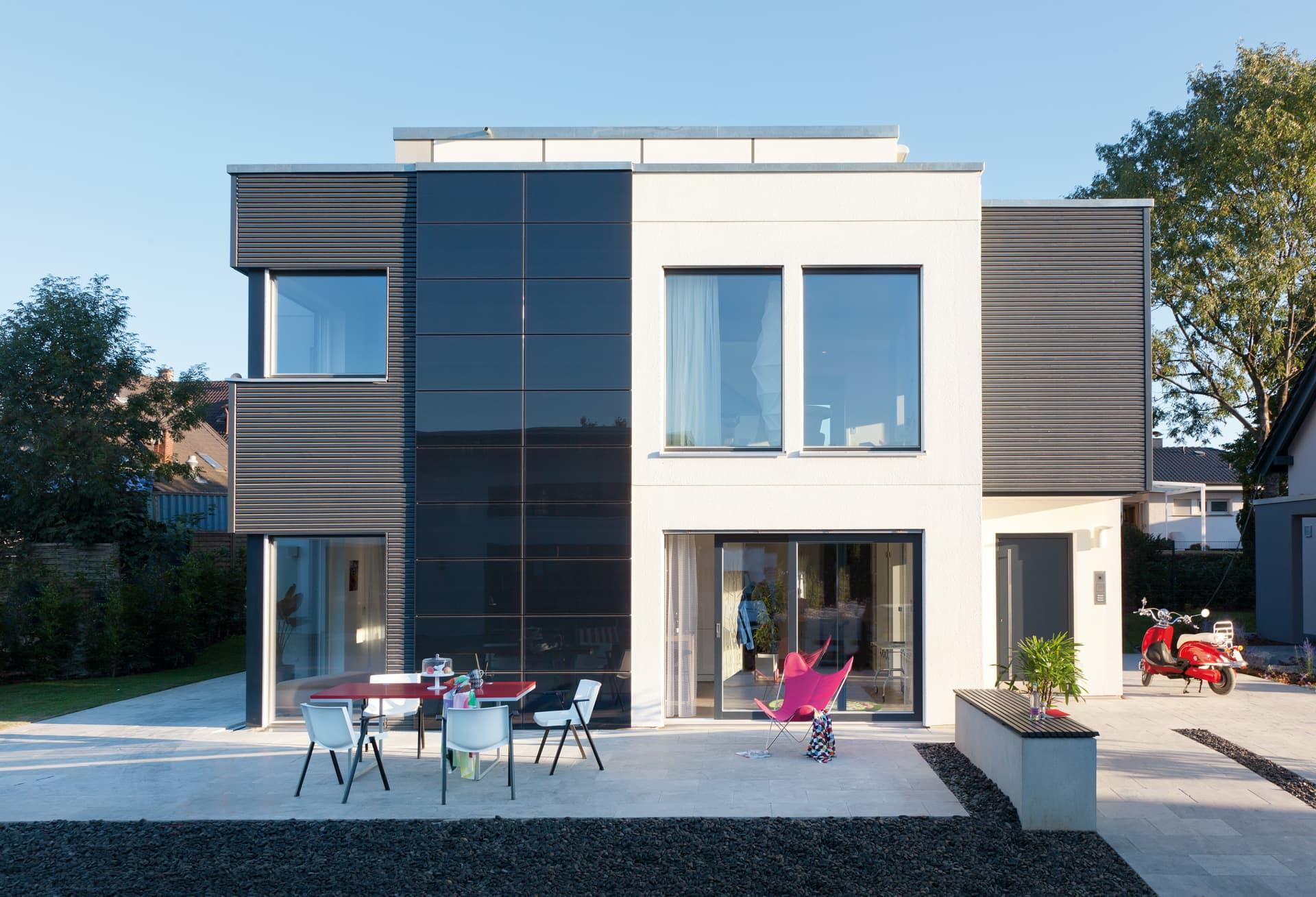 schw rerhaus moderner kubus. Black Bedroom Furniture Sets. Home Design Ideas