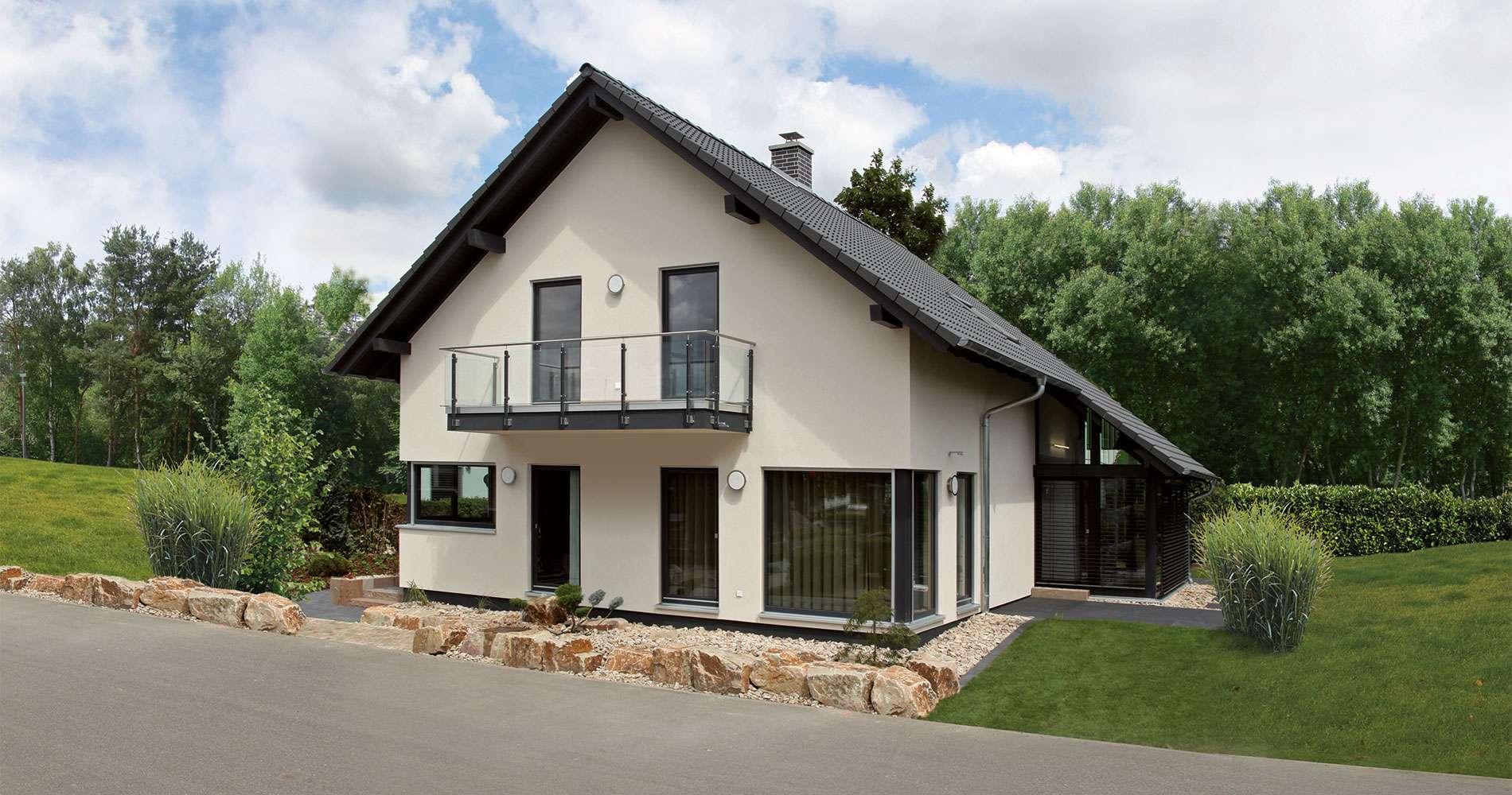 VIO 450 - Mannheim - attraktive Außenansicht mit Balkon und Wintergarten