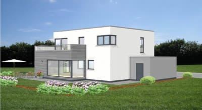 Meisterstück-HAUS Kundenhaus im Bauhaus-Stil