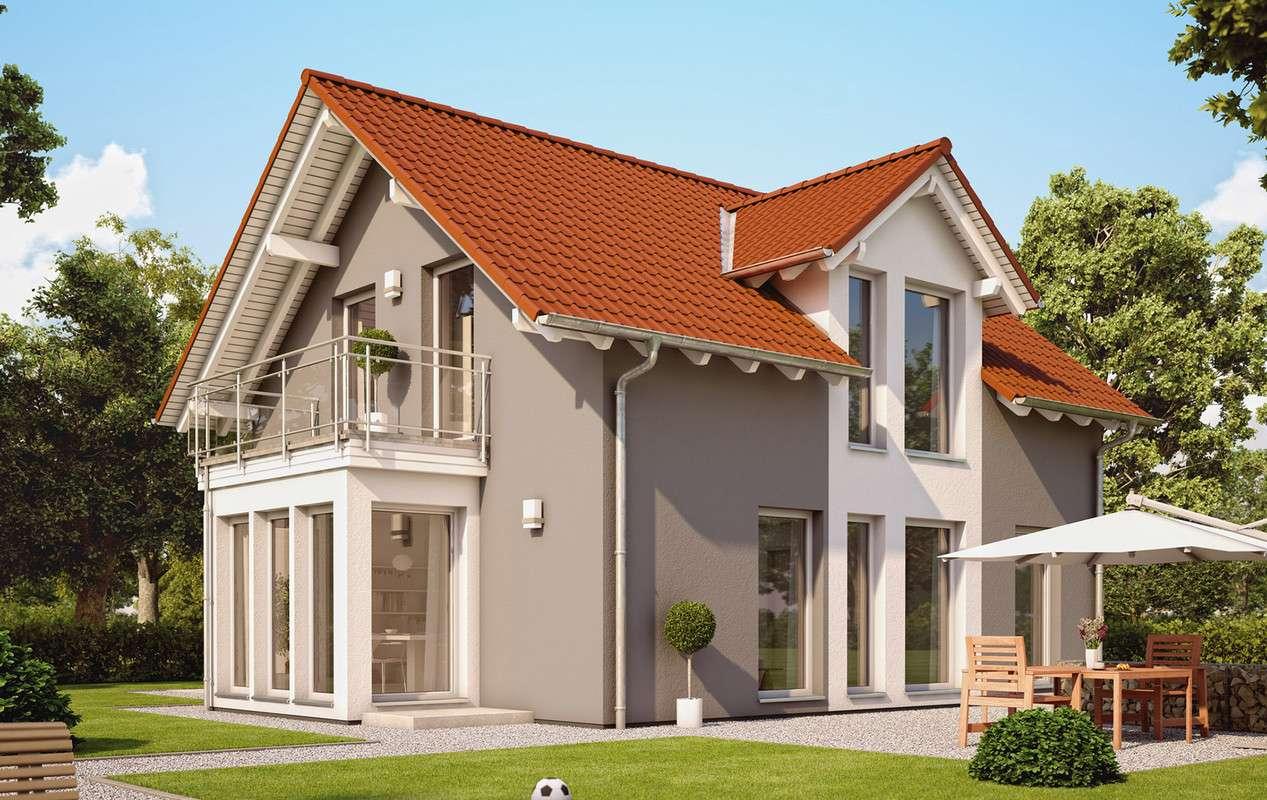 <p><strong>Gemütliches Traumhaus mit Erker, Balkon und Carport</strong></p>