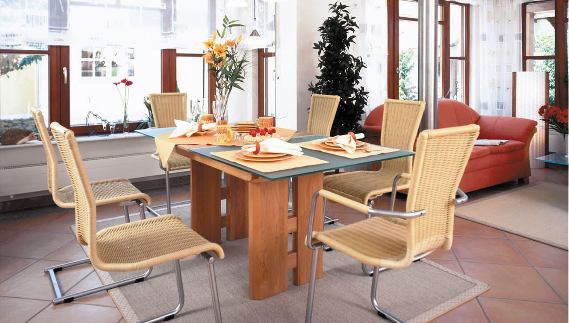 Fertighaus weiss musterhaus family classic in fellbach - Esszimmer stuttgart ...
