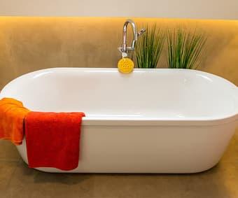 Badezimmer zur Entspannung