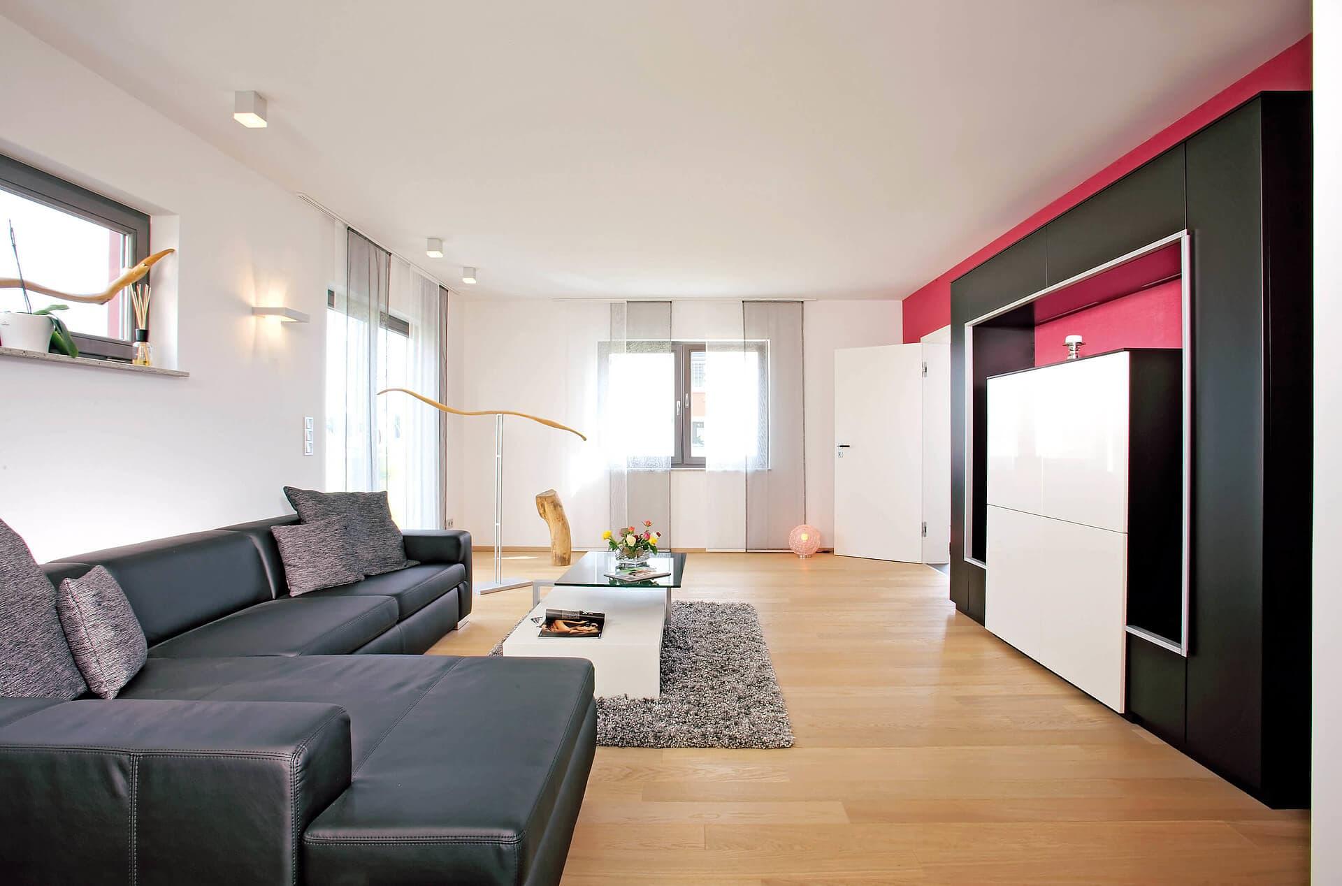Musterhaus Erlangen Wohnzimmer