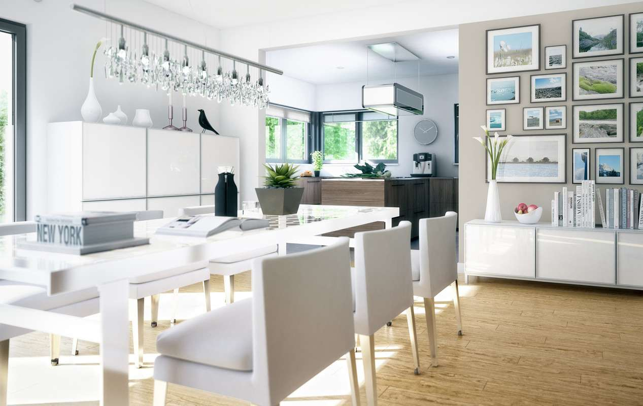 <p><strong>Elegantes und repräsentatives Zweifamilienhaus</strong></p>