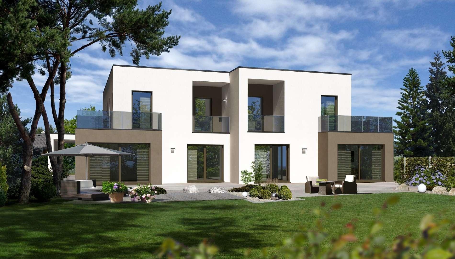 Doppelhaus t r an t r mit freunden for Raumgestaltung dresden