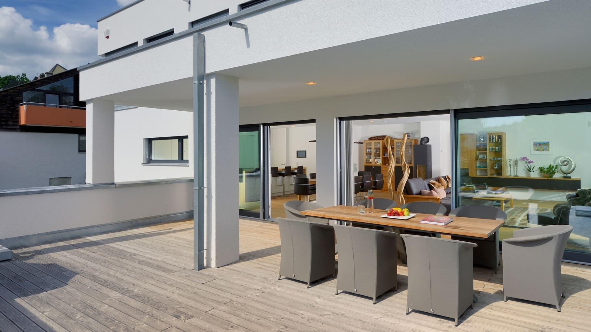 fertighaus weiss haus w nschmann. Black Bedroom Furniture Sets. Home Design Ideas