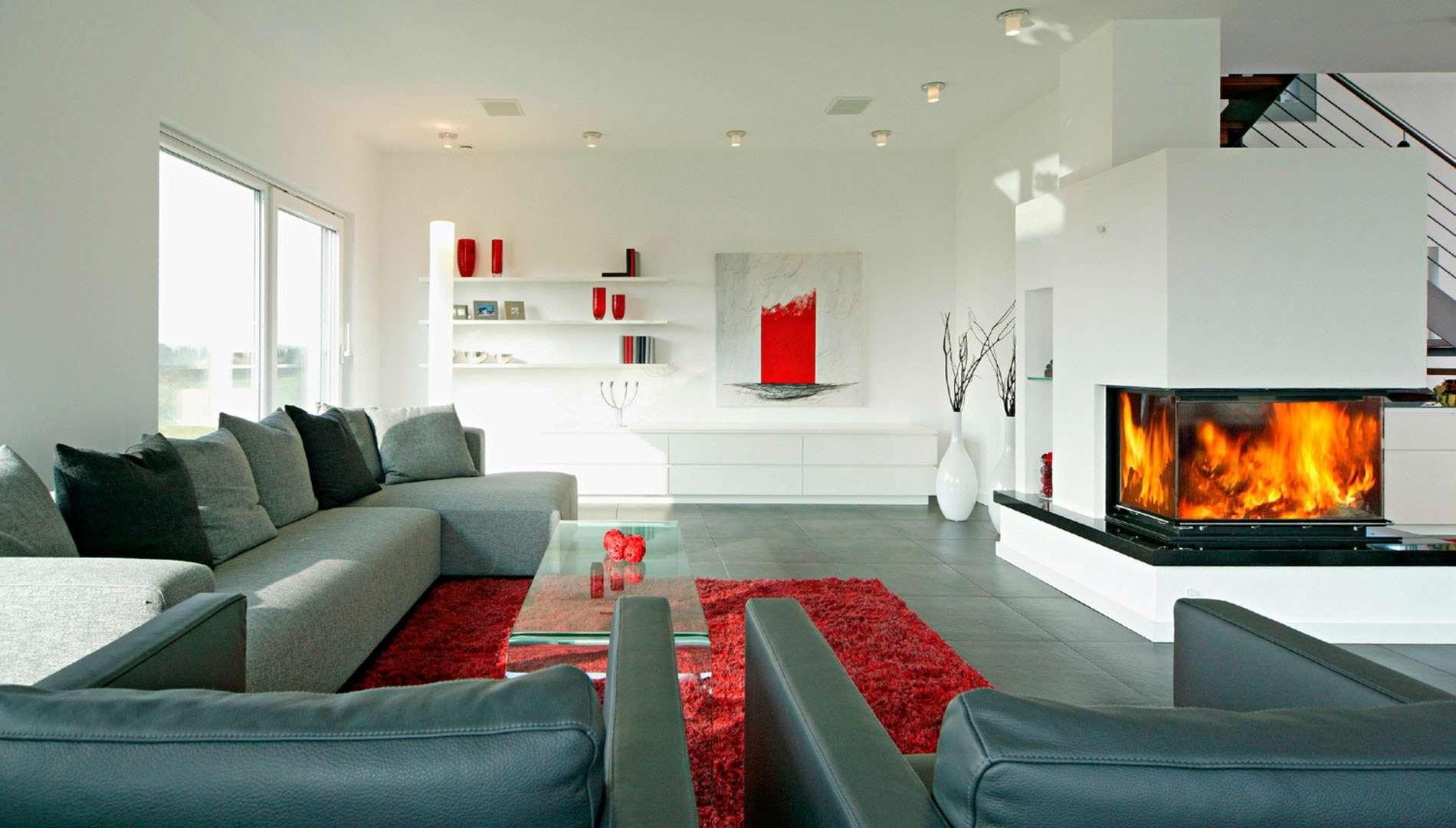 Musterhaus STYLE - Wohnzimmer