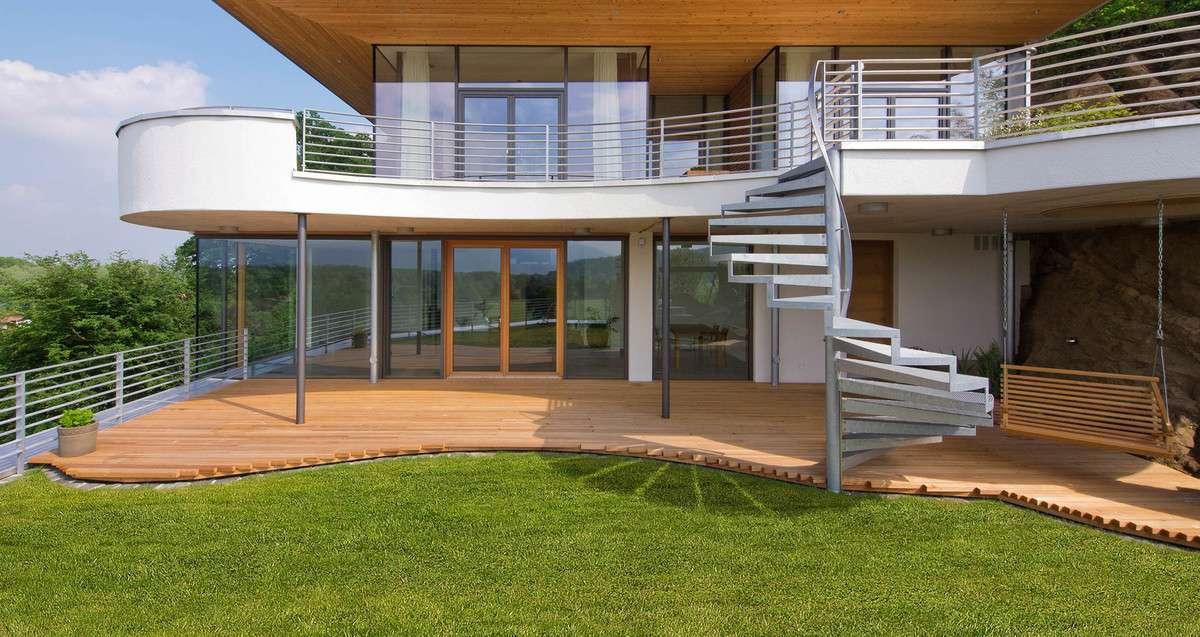 designhaus als fertighaus architektur in fertigbauweise. Black Bedroom Furniture Sets. Home Design Ideas