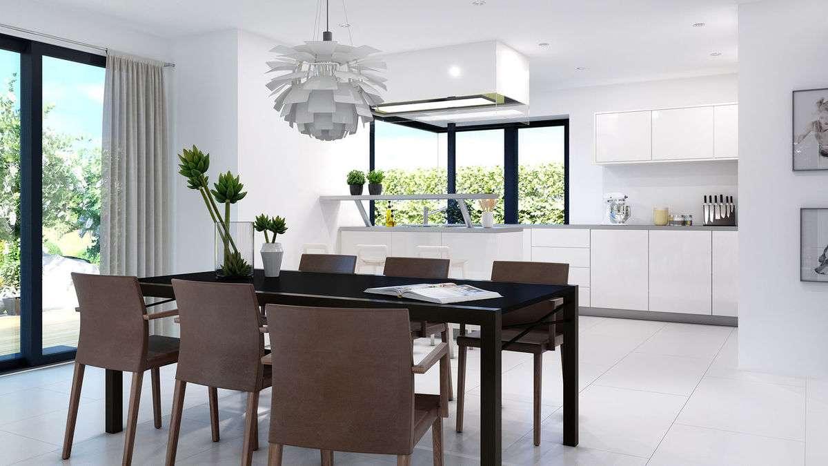 bien zenker musterhaus concept m 159 in bad vilbel. Black Bedroom Furniture Sets. Home Design Ideas