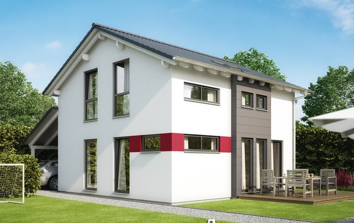 living haus solution 126 xl v4 living fertighaus gmbh anbieter. Black Bedroom Furniture Sets. Home Design Ideas