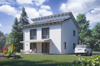 TALBAU-Haus - Quadratisch, modern, großzügig