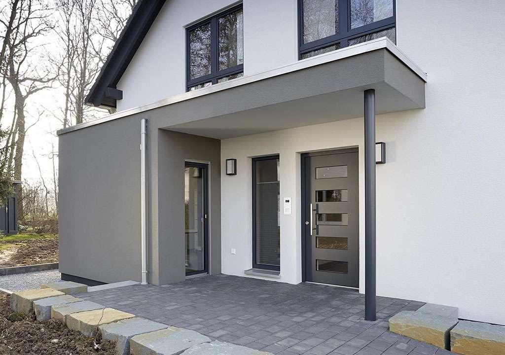 NEO - Bad Vilbel - überdachter Eingangsbereich
