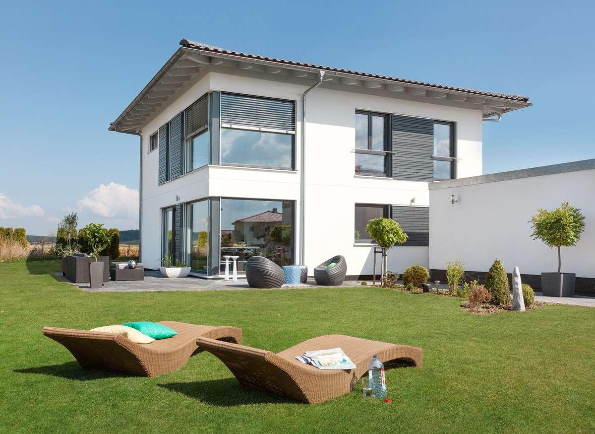 schw rerhaus fertighaus mit 120 qm kundenhaus. Black Bedroom Furniture Sets. Home Design Ideas