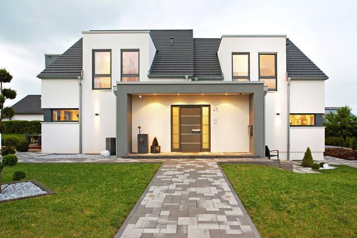 gussek haus einfamilienhaus modell sanderau gussek. Black Bedroom Furniture Sets. Home Design Ideas