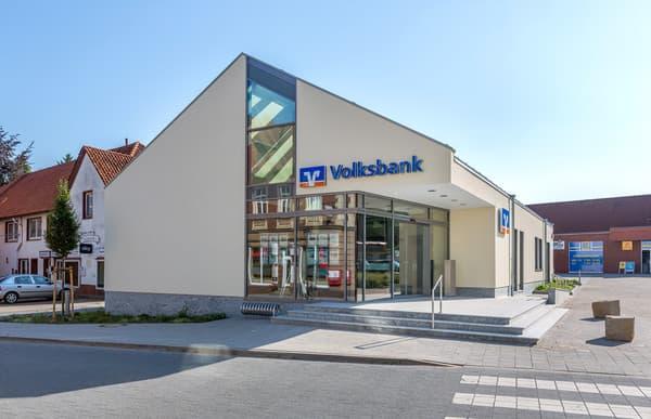 Meisterstück-HAUS Gewerbebau Bankfiliale
