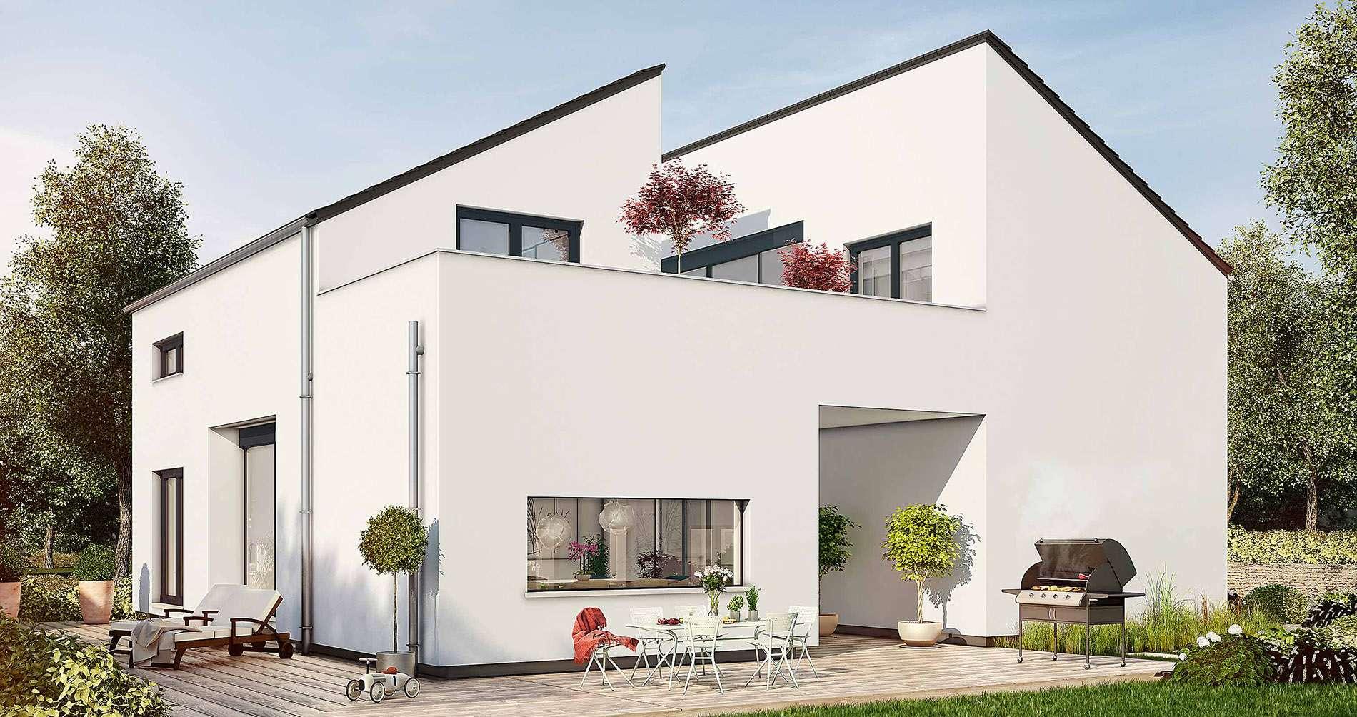 Okal musterhaus bad vilbel musterhauspark frankfurt for Atriumhaus bauen