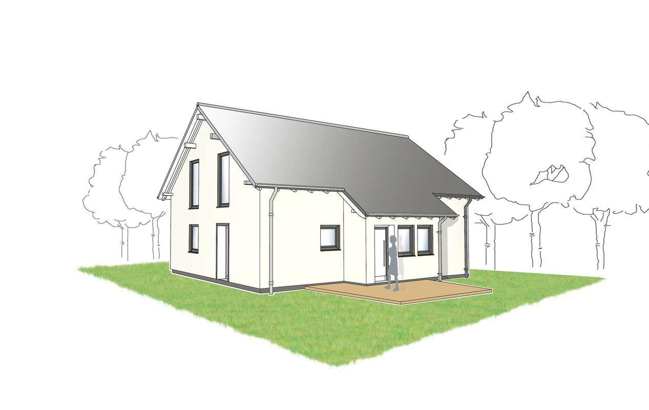Eingangsbereich Partner Haus - Passivhaus Pur 1.0