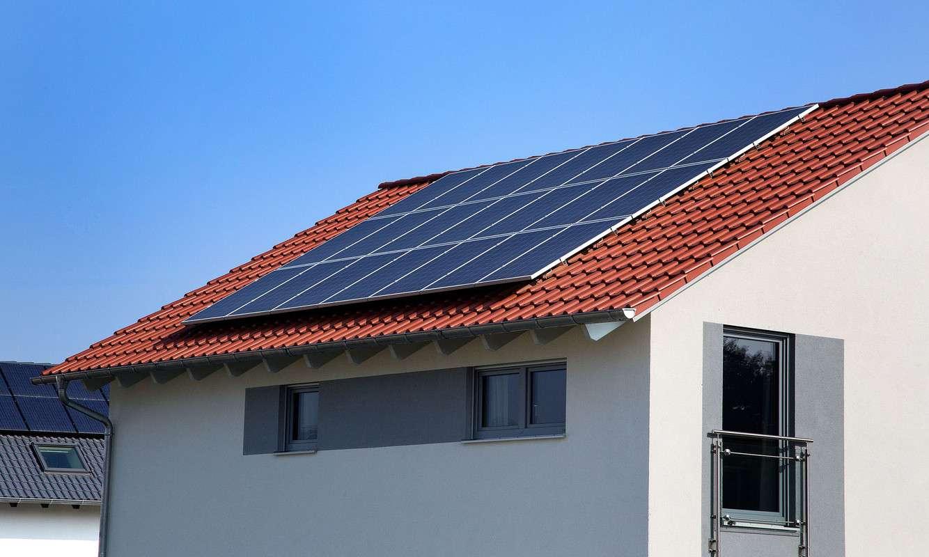 Schwabenhaus Musterhaus Photovoltaik