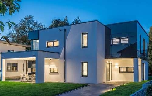 Trendline R - geradlinige und imposante Flach- und Pultdachhäuser