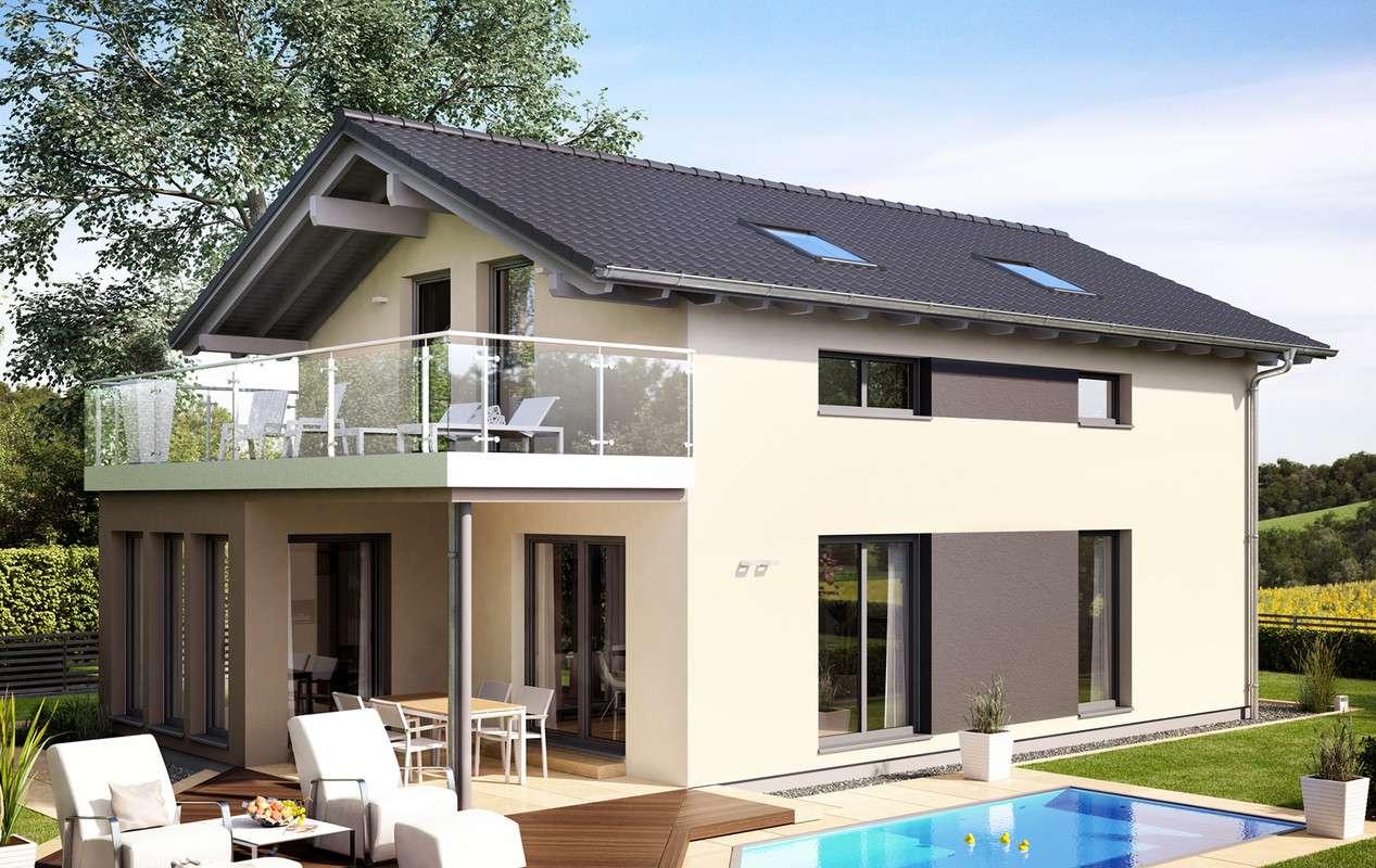<p><strong>Schickes Einfamilienhaus mit Wintergarten-Erker, Freisitz und Balkon</strong></p>