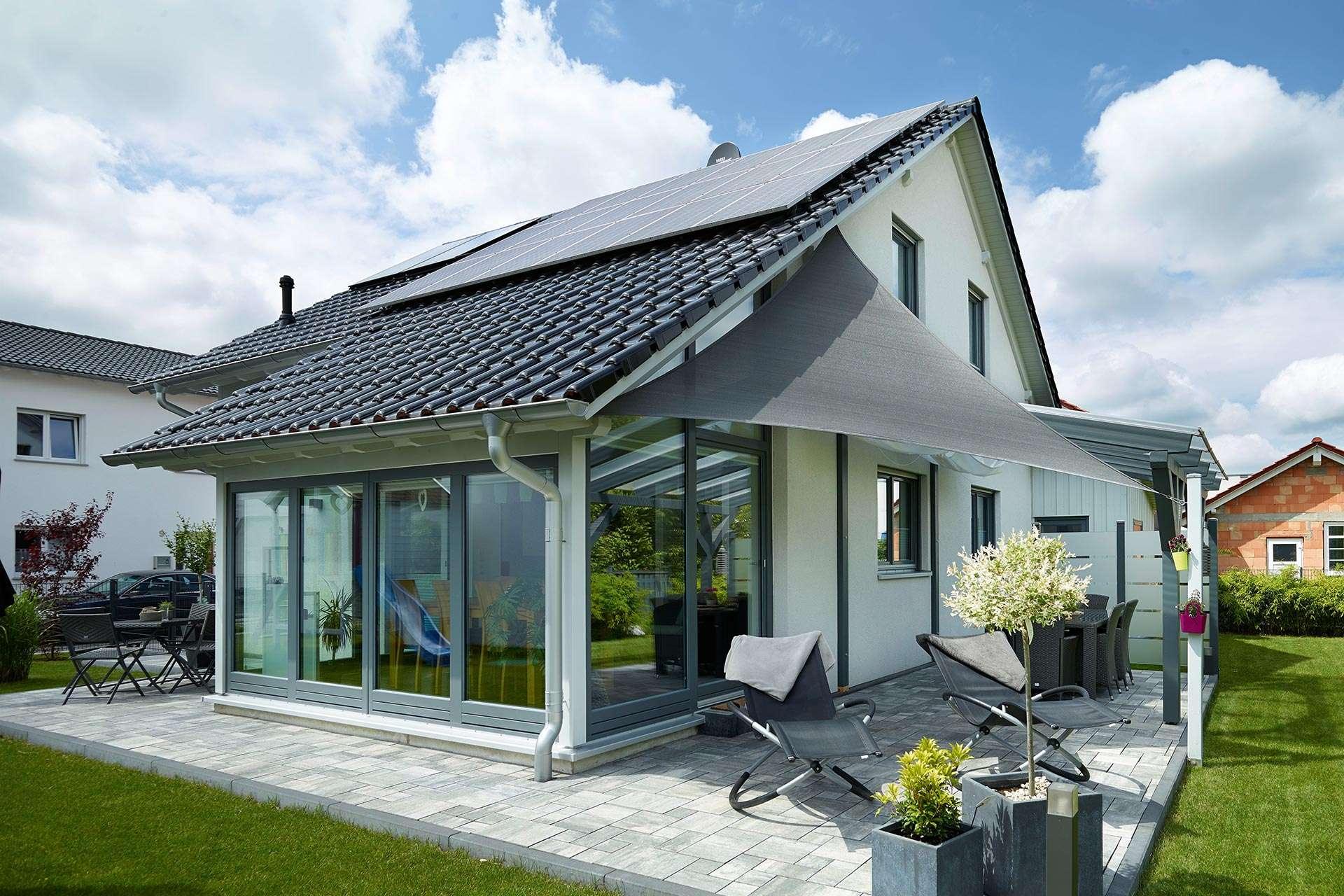 gussek haus einfamilienhaus modell sonnenh gel. Black Bedroom Furniture Sets. Home Design Ideas