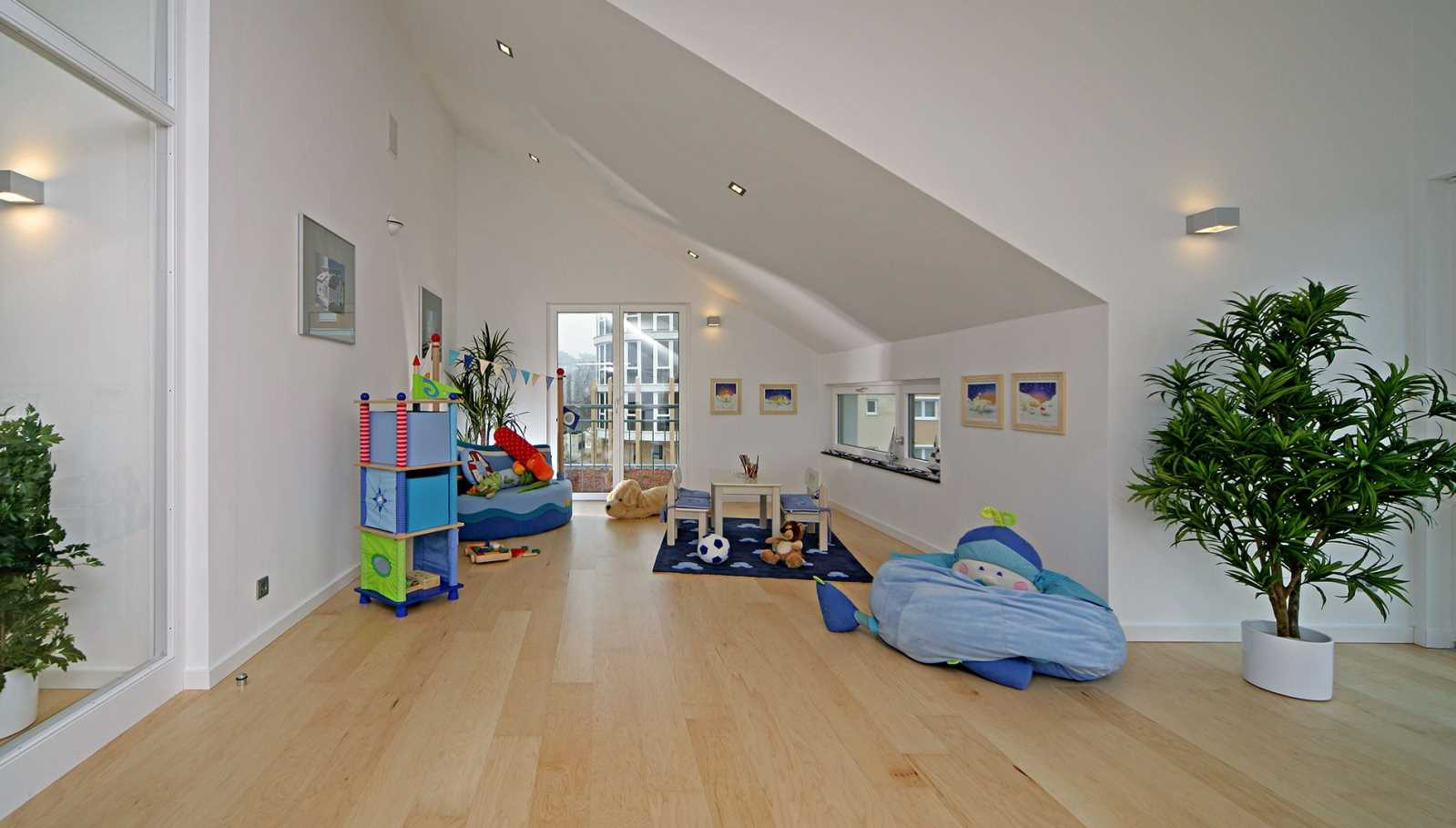 Plusenergiehaus Erlangen - Kinderzimmer