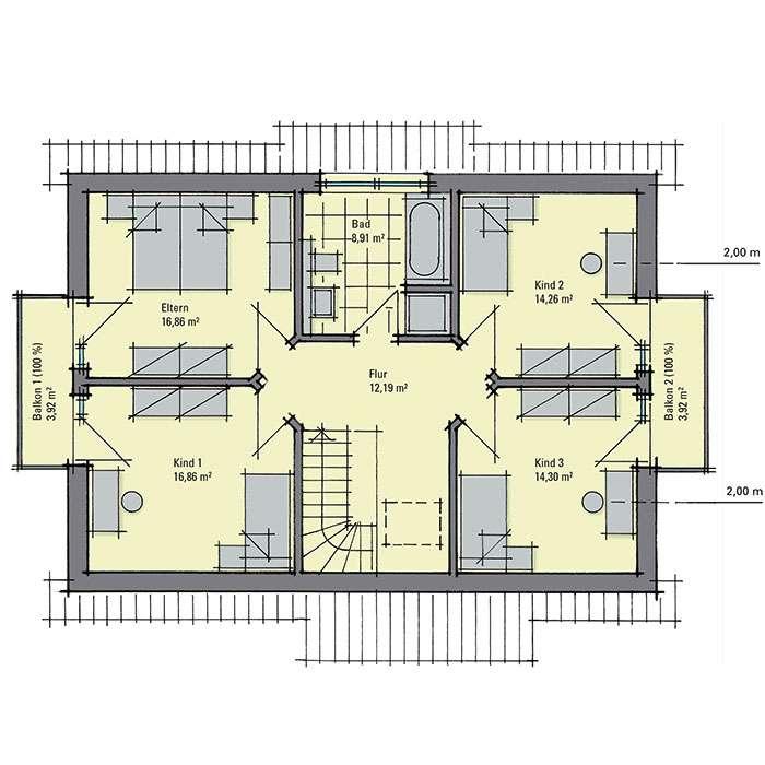 gussek haus musterhaus sabrina in bad vilbel. Black Bedroom Furniture Sets. Home Design Ideas