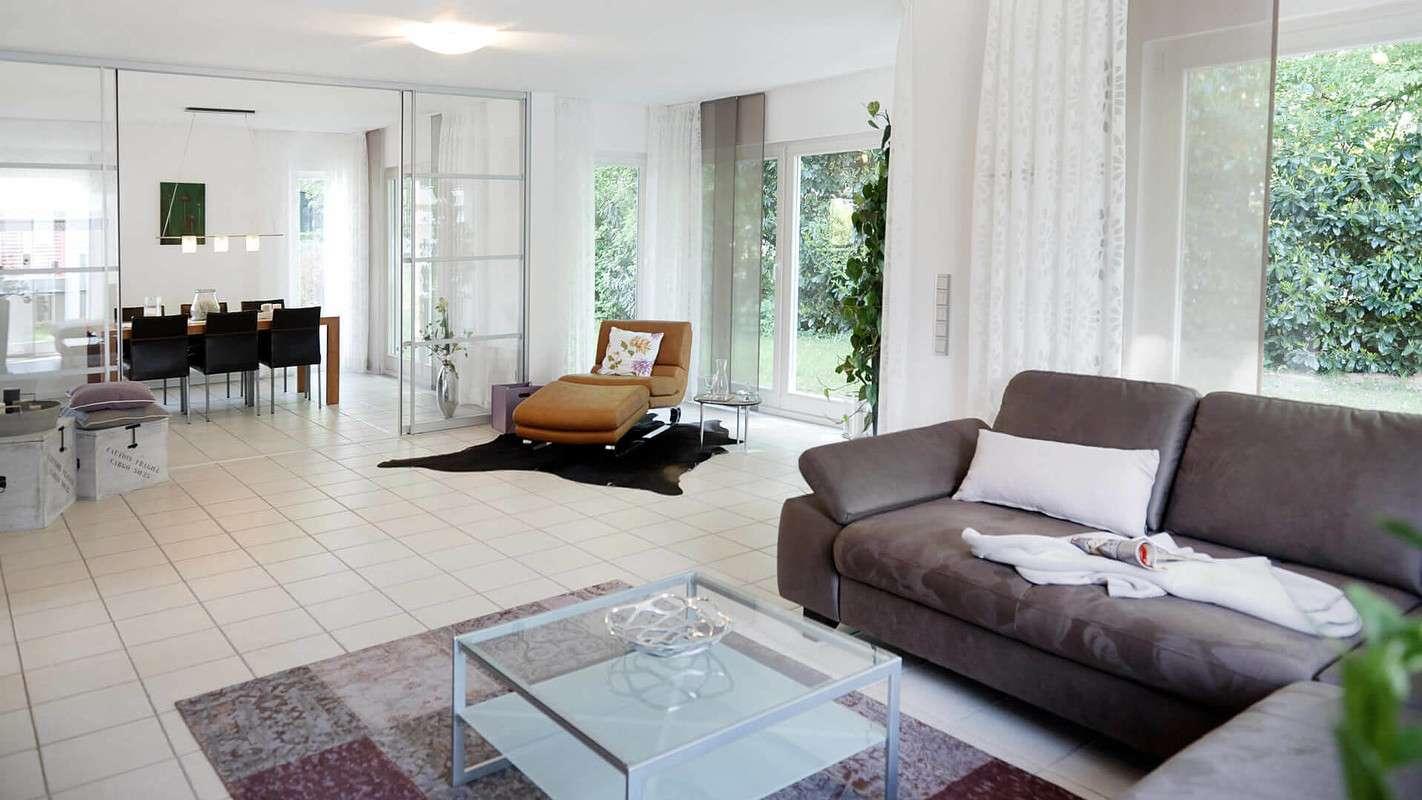 Musterhaus Wohnzimmer