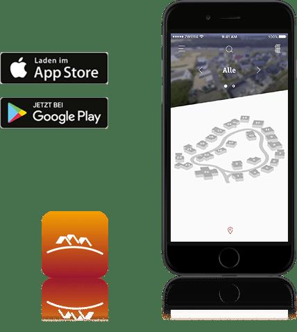 Die App der FertighausWelt Günzburg erleichtert die Suche nach dem eigenen Haus mit vielen Hausfotos und nützlichen Informationen.