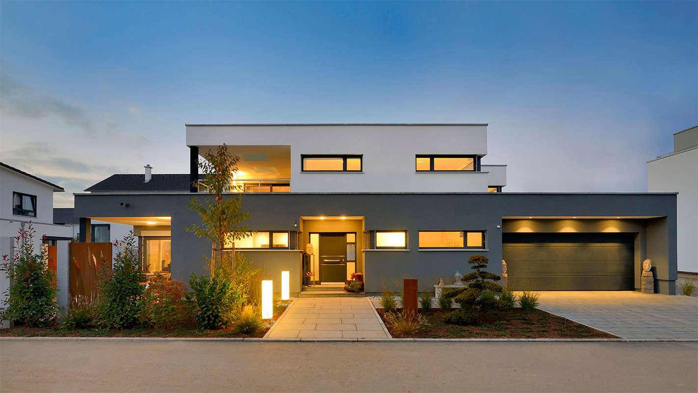 Bauhaus in seiner besten Form - schnörkellos, kubisch, zeitlos.