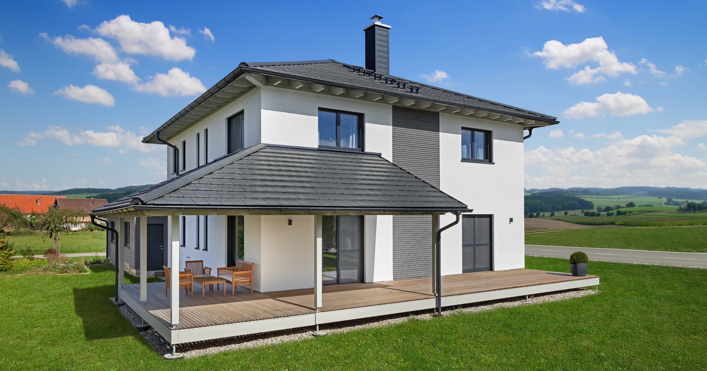 Stadthaus bongart bau fritz gmbh co kg anbieter - Dachformen architektur ...
