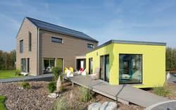 Modernes Einfamilienhaus im Bauhaus-Stil