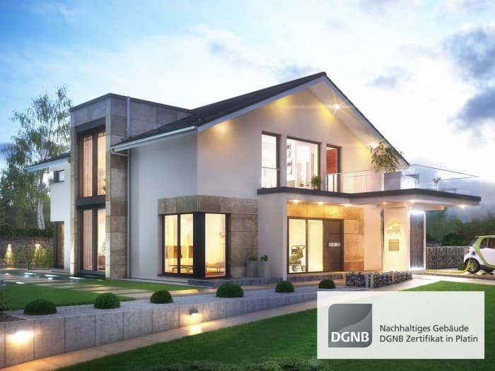 bien zenker musterhaus concept m 210 in g nzburg. Black Bedroom Furniture Sets. Home Design Ideas