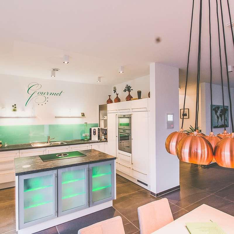 Moderner Kochbereich