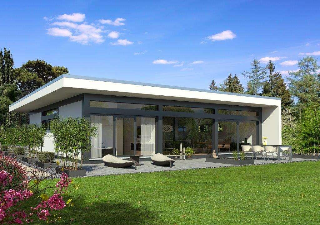 Meisterst ck haus transparentes fachwerk auf einer ebene - Holzhaus bauhausstil ...