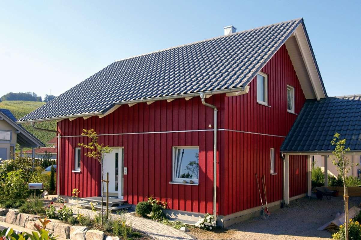 Einfamilienhaus im skandinavischen Landhausstil