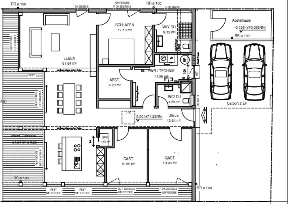 traumhaus auf einer ebene erfahrung mit meisterst ck haus. Black Bedroom Furniture Sets. Home Design Ideas