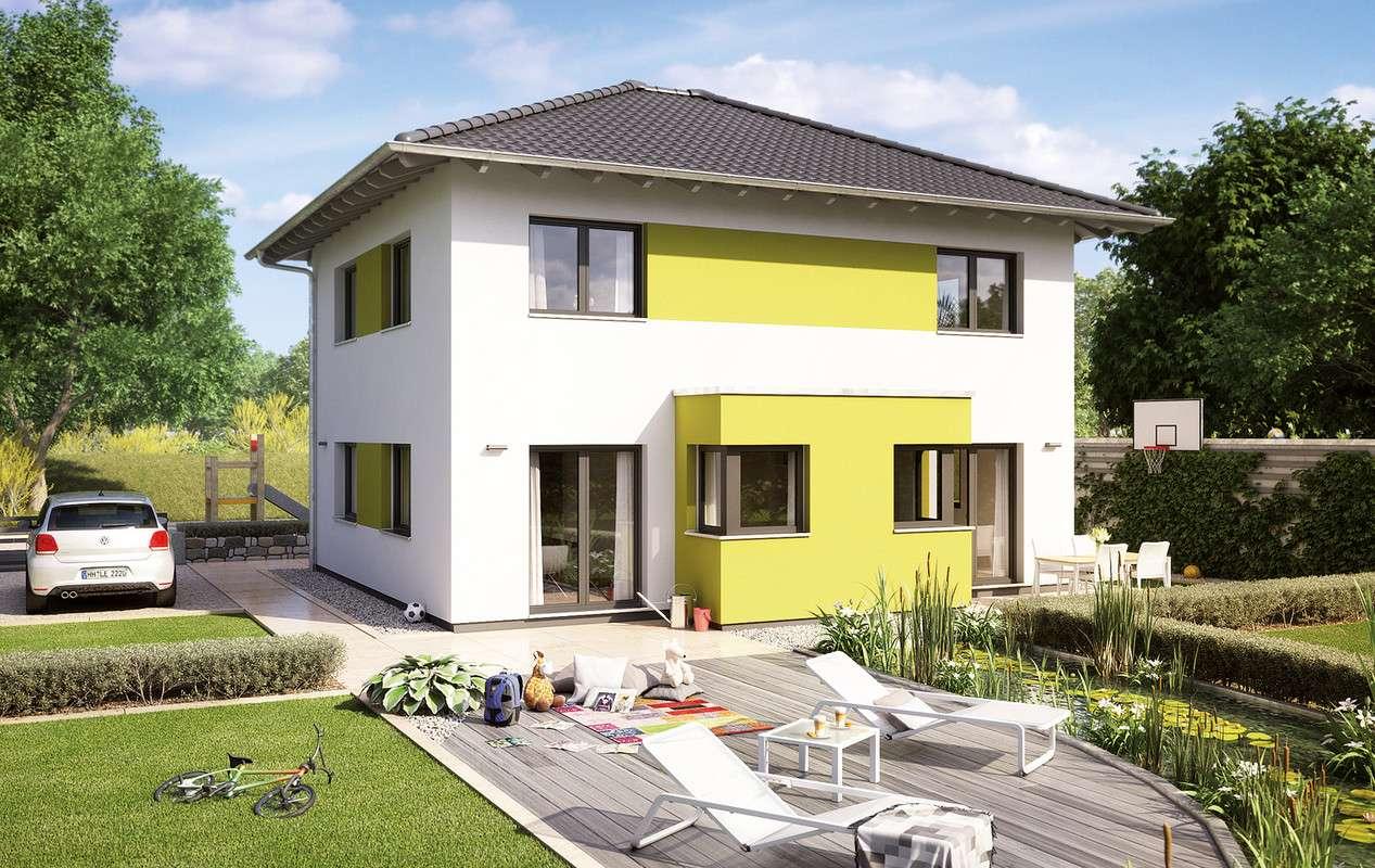 <p><strong>Ein Familienhaus zum Energiesparen</strong></p>