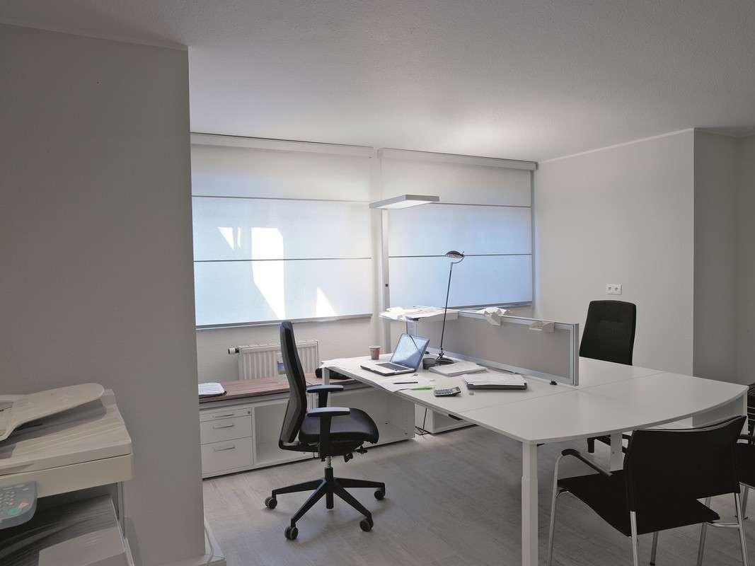 Büroräume mit angenehmer Arbeitsatmosphäre