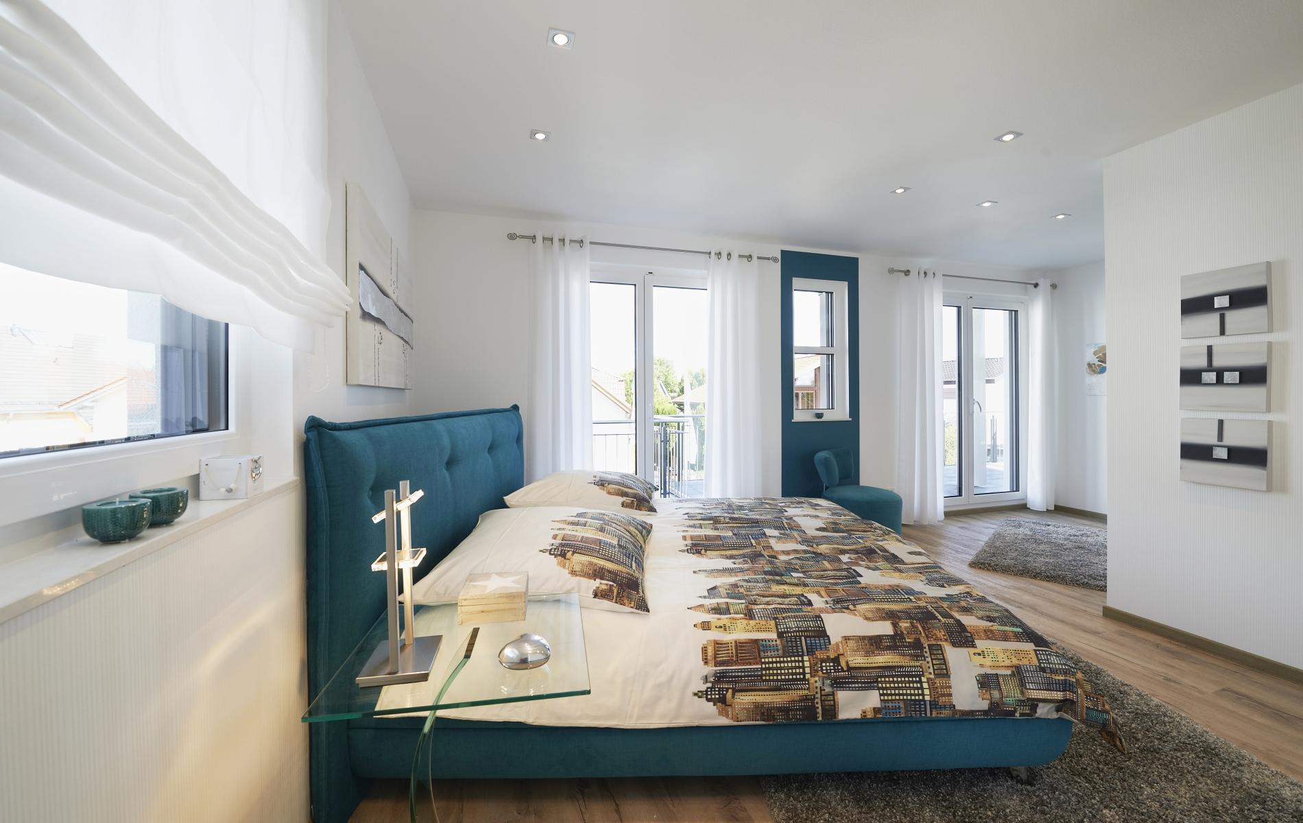 Musterhaus Montana - Schlafzimmer