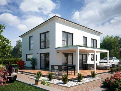 TALBAU-Haus – Vario4plus modern mit Pultdach