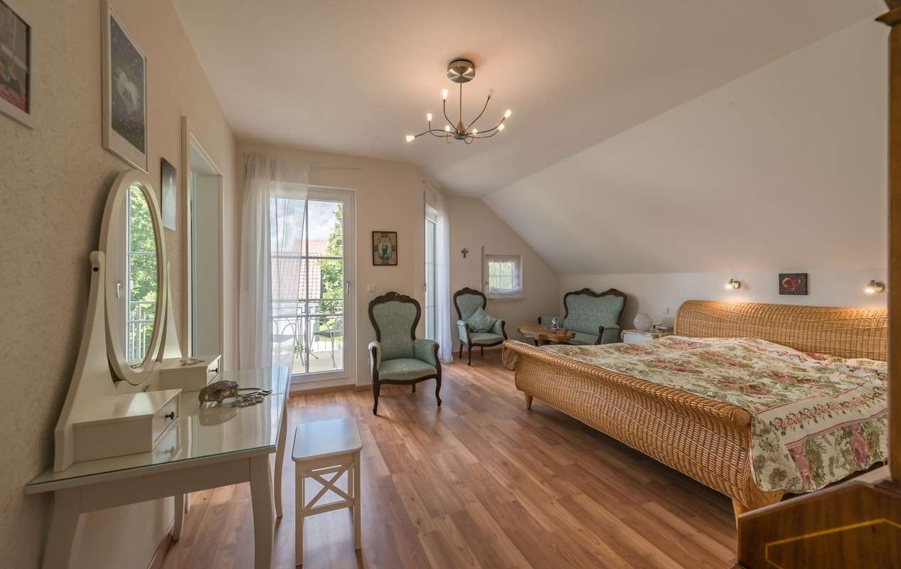 Kundenhaus Turin - Schlafzimmer