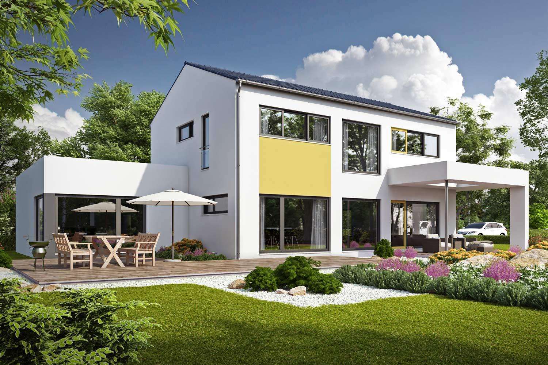 Ein individuelles Architektenhaus von Büdenbender überzeugt durch seine moderne und architektonisch ansprechende Geradlinigkeit. Ideenreichtum und Individualität kennzeichnen dabei die neuen Architekturformen.