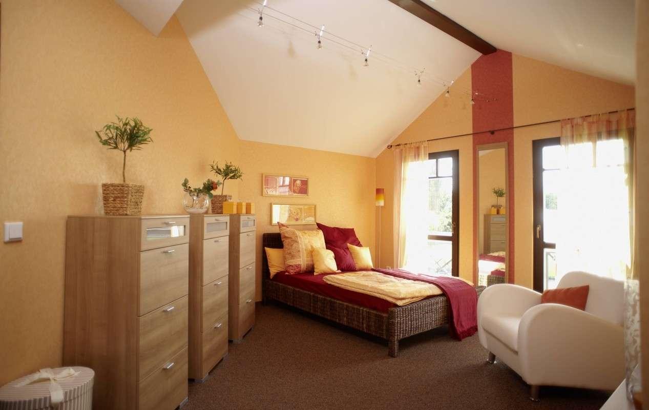 Musterhaus Provence Offenburg - Schlafzimmer