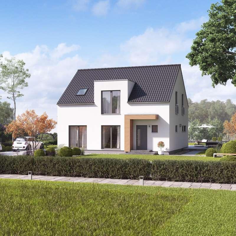 massa haus musterhauszentrum paderborn fertighaus. Black Bedroom Furniture Sets. Home Design Ideas