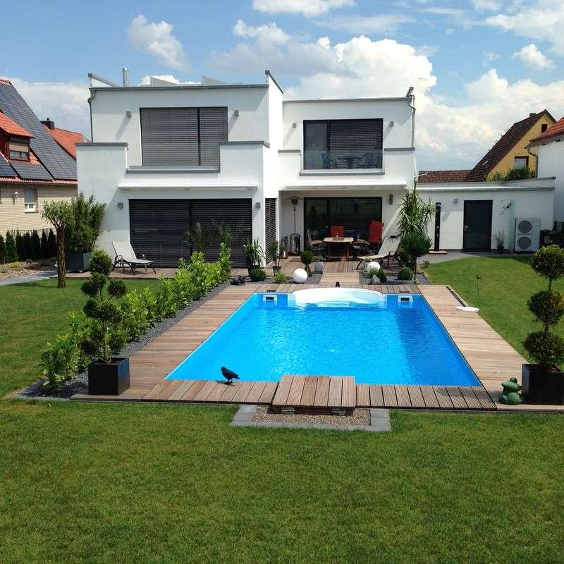 Sander haus bauhaus stil he 214 kundenhaus - Bauhaus pool zubehor ...