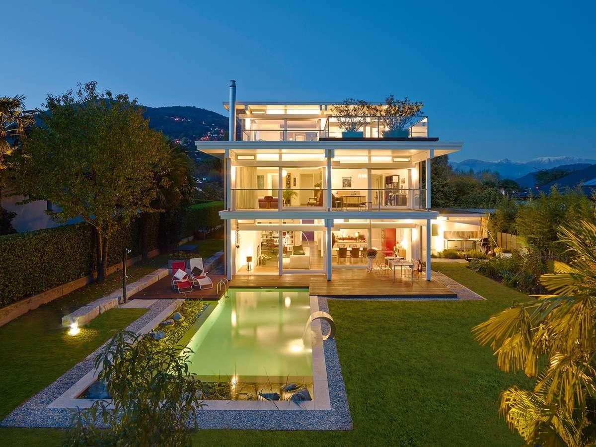 Faszinierend Haus Flachdach Referenz Von Art Sonder